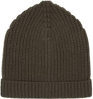 Dolce & Gabbana Ribbed Cashmere Hat