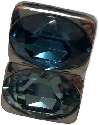 Christian Dior Silver Metal Ring