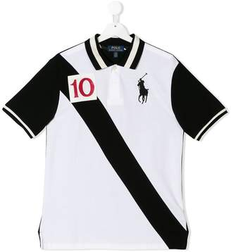 Ralph Lauren TEEN colour block polo shirt