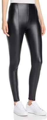 Lyssé High Waist Faux Leather Leggings $108 thestylecure.com