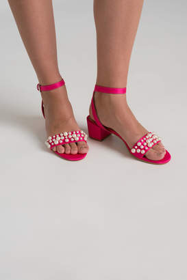 Ardene Pearl Strappy Heels