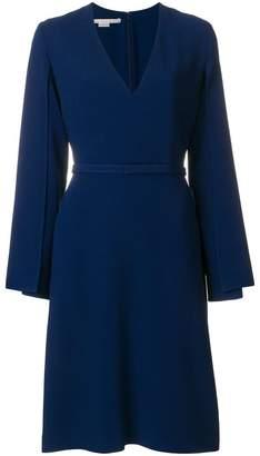 Stella McCartney v-neck slit sleeve dress
