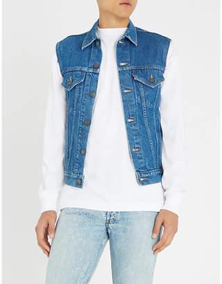 Redline VINTAGE LEVI'S Type 3 1980s sleeveless denim jacket