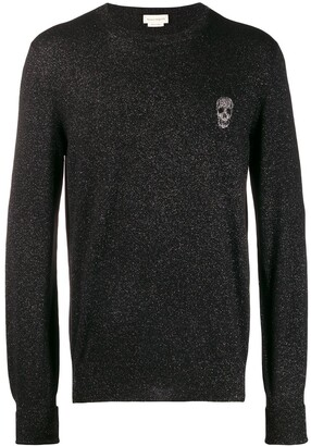 Alexander McQueen skull motif sweater