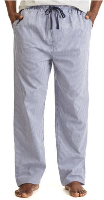 Nautica Men's Woven Gingham Pajama Pants $39 thestylecure.com
