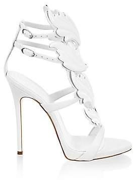 Giuseppe Zanotti Women's Double-Strap Leather Sandals