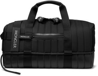 Craig Green Moncler Genius - 5 Moncler Quilted Canvas, Leather and Mesh Holdall