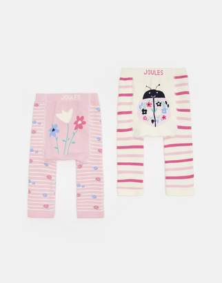 Joules Clothing 203978 Two Pack Leggings