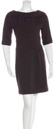 Milly Wool Knee-Length Dress