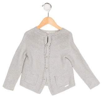 Carrera Pili Girls' Knit Button-Up Cardigan