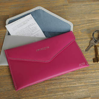 Undercover Ladies' Leather Receipt Wallet