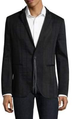 John Varvatos Slim Fit Button Blazer