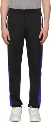 Rag & Bone Black Colorblock Track Pants
