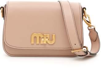 Miu Miu City Calf Miu Logo Bag