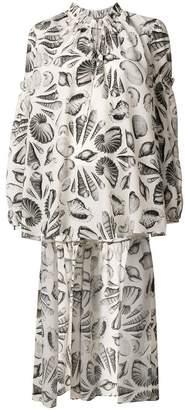 Alexander McQueen Cabinet of Shells blouse