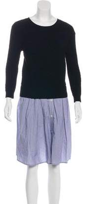 Band Of Outsiders Cable Knit Dress