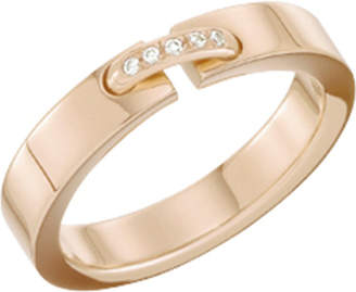 Chaumet Liens 18ct pink-gold wedding band