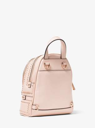 3f68a3f61733 MICHAEL Michael Kors Rhea Mini Rose Studded Leather Backpack
