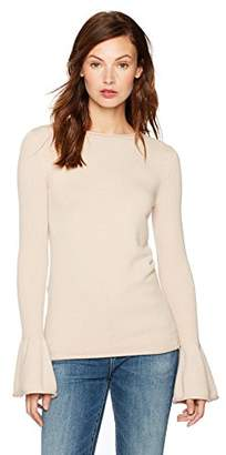 Cable Stitch Women's Bell Cuff Sweater