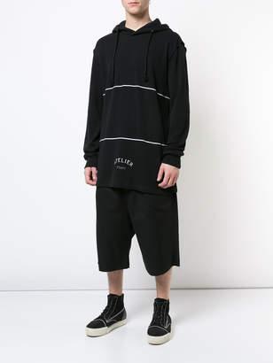 Maison Margiela 'atelier' hooded sweatshirt