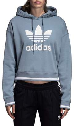 adidas Active Icons Crop Hoodie
