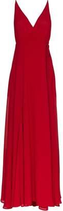 Reformation V neck strappy Callalilly dress