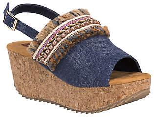 Muk Luks Wedge Sandals - Marion