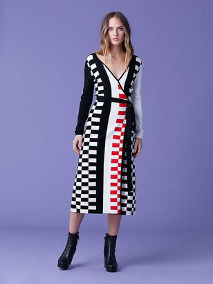 Diane von Furstenberg Enzo Wrap Dress