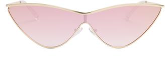 LE SPECS X Adam Selman The Fugitive sunglasses $77 thestylecure.com