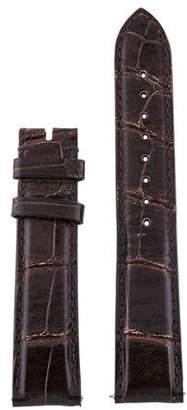 Michele 18mm Alligator Strap