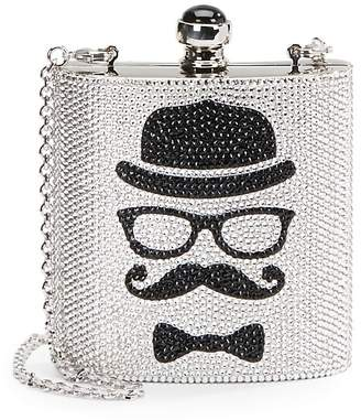 Judith Leiber Couture Women's Embellished Convertible Flask Clutch
