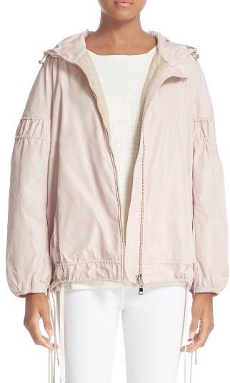 MonclerWomen's Moncler Jarosse Short Rain Jacket