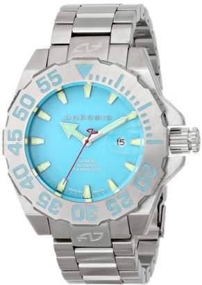 Android Men's AD442BBU2 Divemaster Silverjet 500 Super Luminova Watch