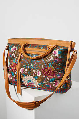 Johnny Was Delphine Floral Weekender Bag