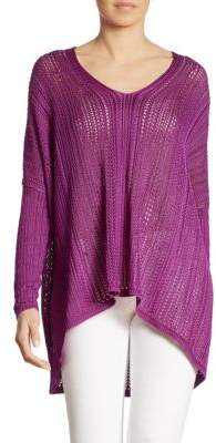 Ralph Lauren Collection Silk Poncho Top