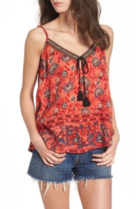 Women's Band Of Gypsies Bohemian Swing Camisole $52 thestylecure.com