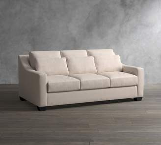 Pottery Barn York Slope Arm Deep Seat Upholstered Sofa