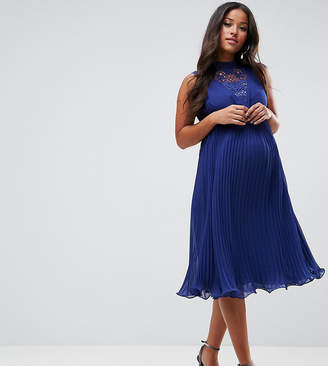Asos Sleeveless Lace Insert Dress