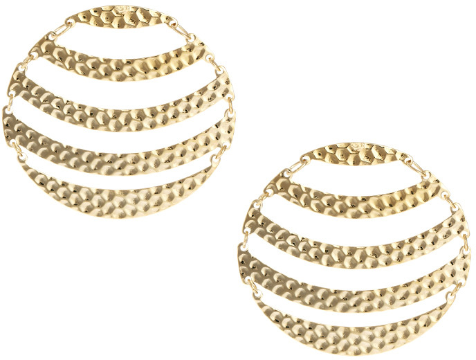 Asos Limited Edition Articulated Circle Earrings