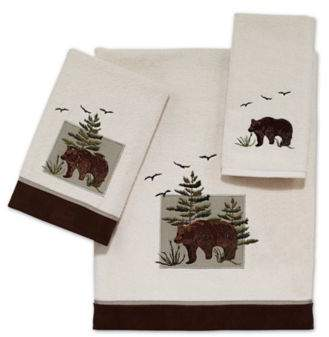Bear Patch Bath Towel