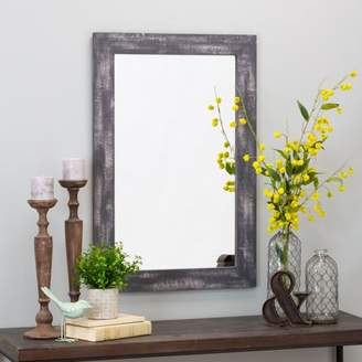 "Aspire Home Accents Morris Wall Mirror - Gray 36"" x 24"" by Aspire"