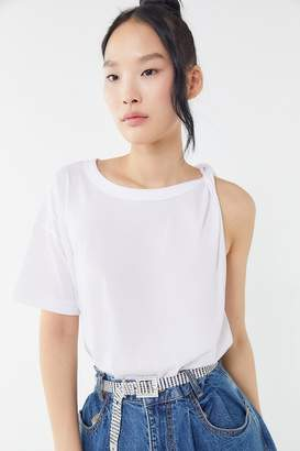 Truly Madly Deeply Twisted Asymmetrical Cutoff Tee
