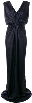 Rhea Costa front knot gown