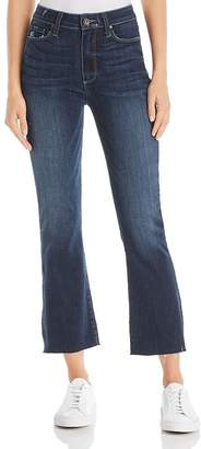 Paige Colette Crop Flare Jeans in Anza - 100% Exclusive