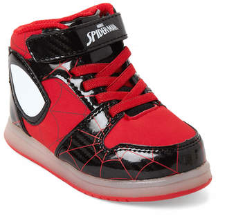 Spiderman Spider Man (Toddler Boys) Red & Black Character Light-Up Sneakers