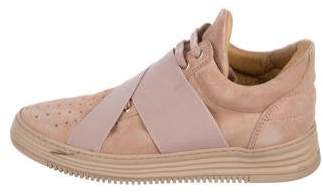 Filling Pieces Suede Low-Top Sneakers