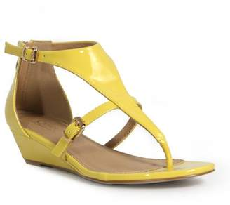 Catherine Malandrino Riana Low Wedge Sandal
