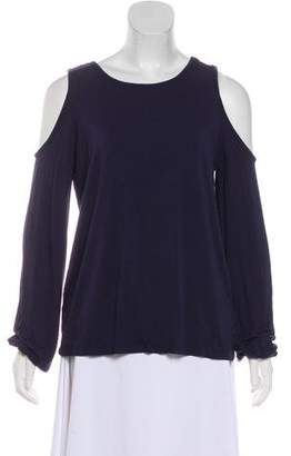Rebecca Minkoff Cold-Shoulder T-Shirt