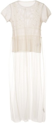Tu es mon TRÉSOR tulle dress with Mesh T-shirt