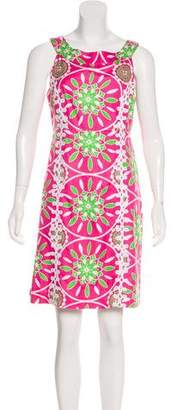 Lilly Pulitzer Floral Silk Dress